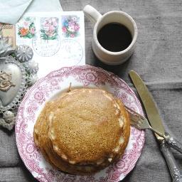Pancakes con farina integrale| Postacoifiori